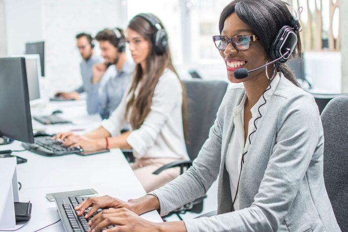 Dejar un mensaje en el contestador del cliente en la venta telefónica